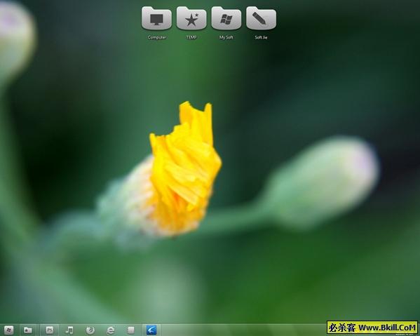 Windows 7 主�}包 0419 (收集多款WIN7主�}) �G色版