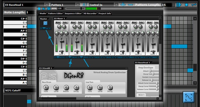 DarkWave Studio 音乐创作软件