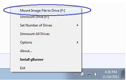 ��M光�工具 gBurner Virtual Drive