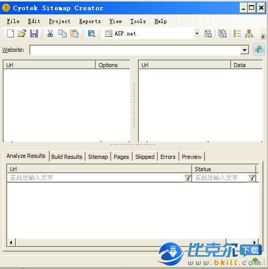 网站地图制作生成器 Cyotek Sitemap Creator