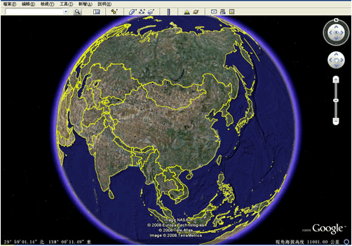 谷歌地球(Google Earth)