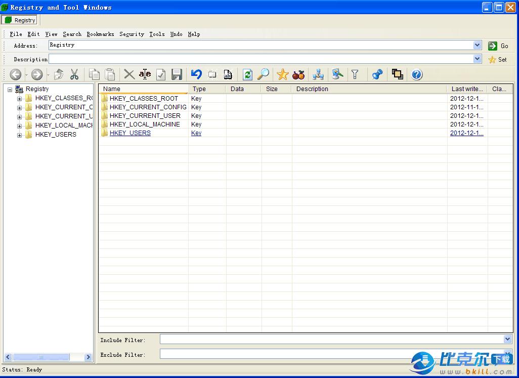 系统注册表管理员(Registrar Registry Manager)
