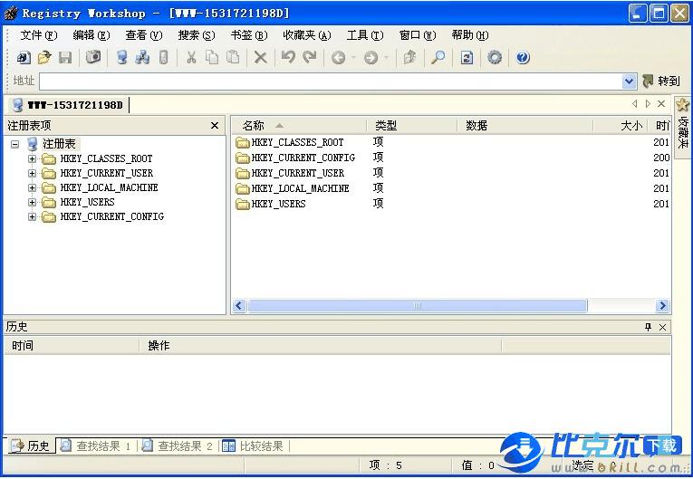 Registry Workshop(注册表编辑器) V4.6.3 官方中文版 - DickMoore - DickMoore☆软件园