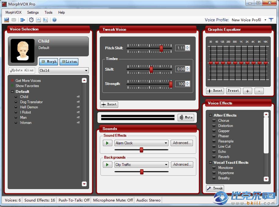 免费变声器(MorphVOX Pro)