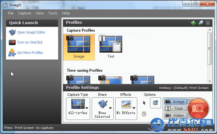 SnagIt 屏幕截图软件