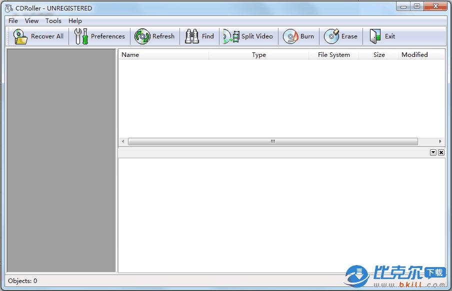 CD/DVD数据恢复软件(CDRoller)