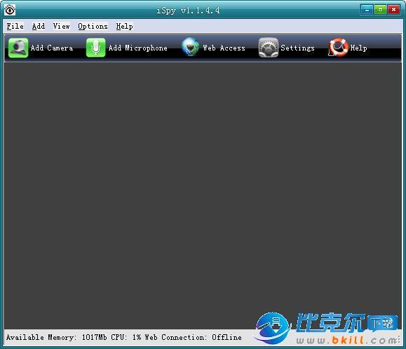 iSpy 摄像头录像软件