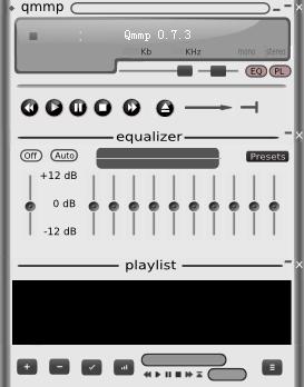 开源音乐播放器(Qmmp)