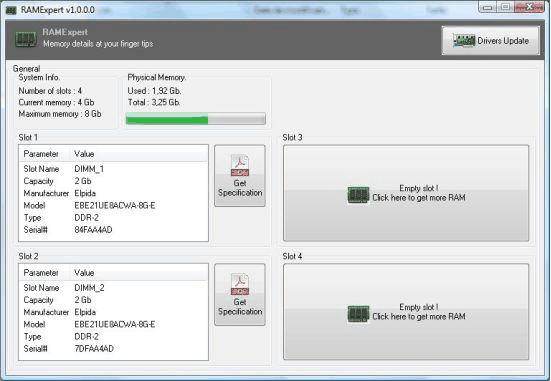 RAMExpert(内存型号检测工具)