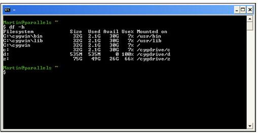 模拟UNIX环境软件(Cygwin)