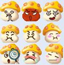 qq仙侠传蘑菇表情包