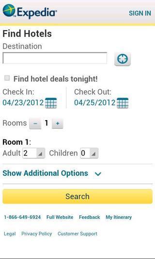 全球定酒店app(Expedia app)