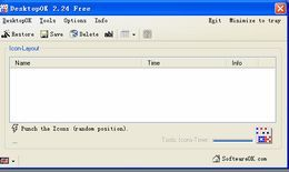 DesktopOK(记录、还原桌面图标的位置)  64位
