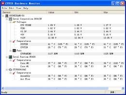 HWMonitor  64位(CPU监测软件)