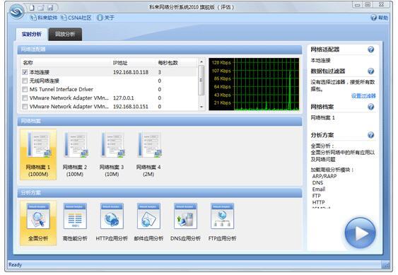 科来网络分析系统