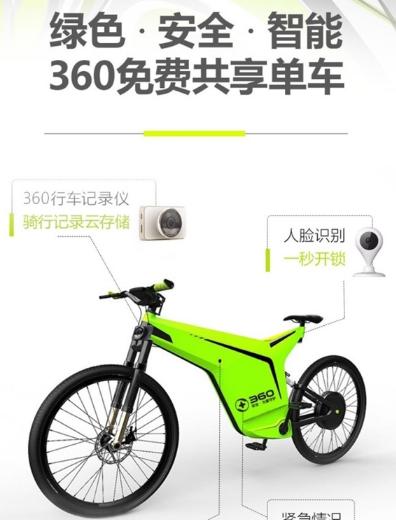 360免费共享单车app