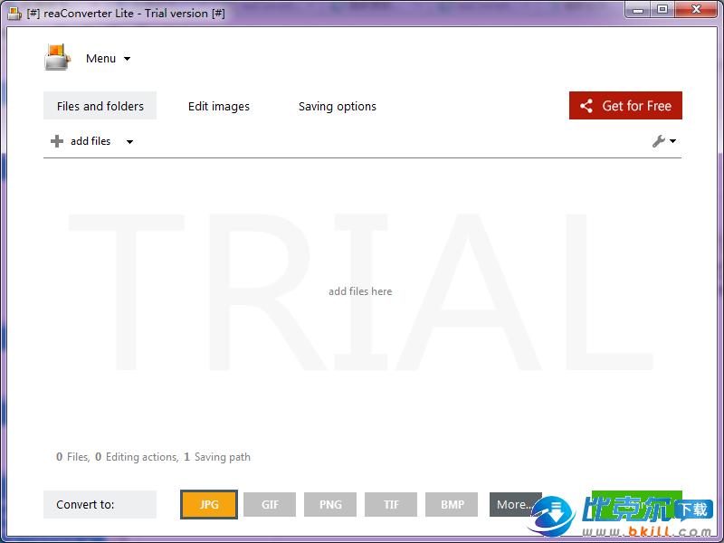 图片转换软件(reaConverter Lite)