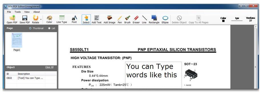 Win PDF Editor(PDF编辑器)