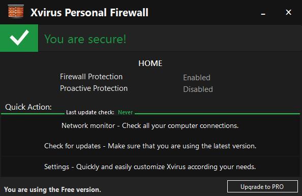 Xvirus Personal Firewall Pro(个人防火墙)