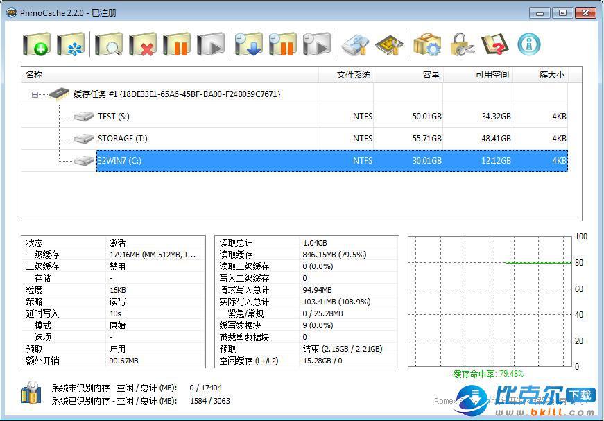 PrimoCache虚拟缓存软件
