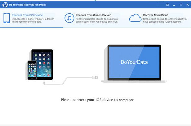 iPhone数据恢复软件( Do Your Data  Recovery for iPhone)