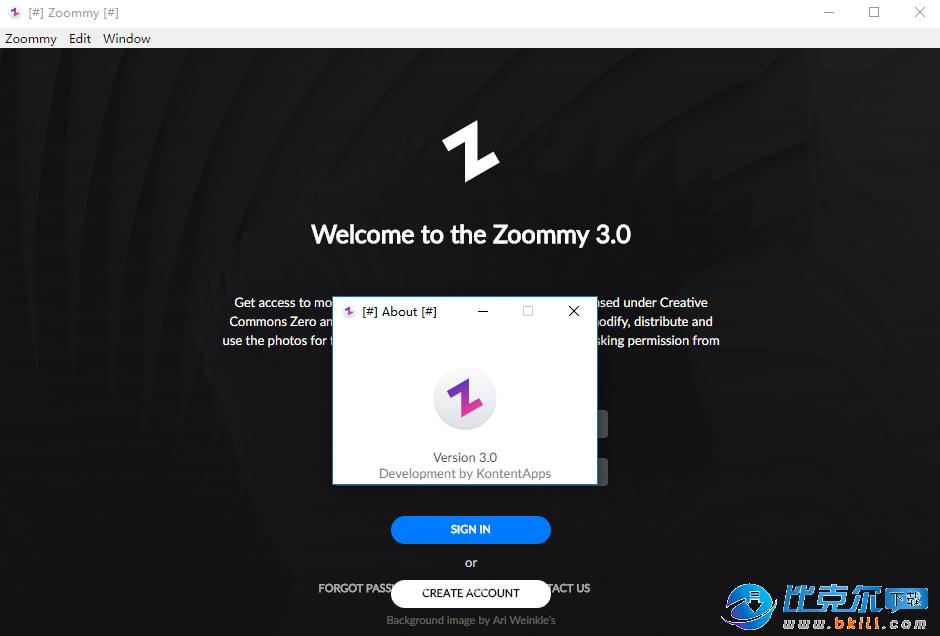 Zoommy(图片素材搜索下载软件)
