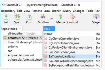 SmartGit(Git管理工具)