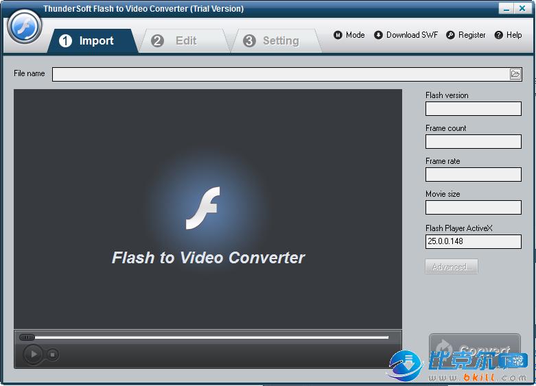 ThunderSoft flash动画转换软件