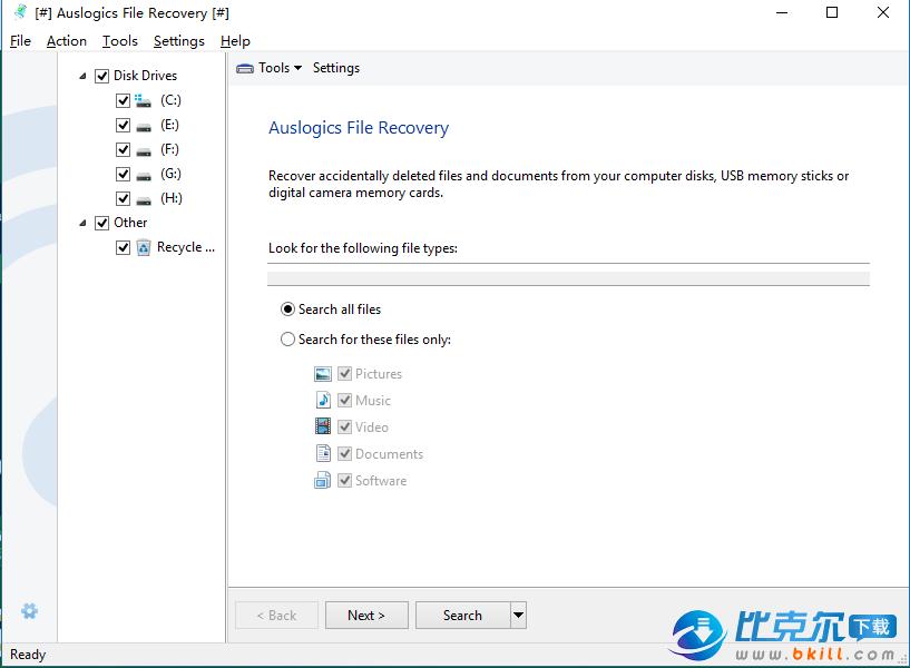 Auslogics File Recovery(文件恢复软件)