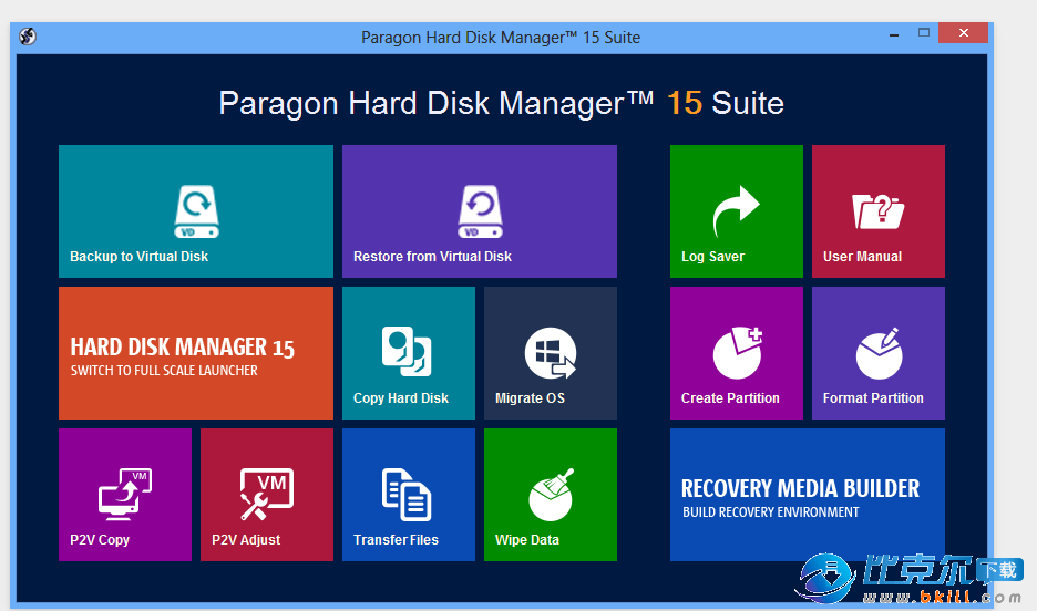 Paragon Hard Disk Manager(硬盘管理软件)