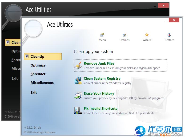 Ace Utilities(电脑系统优化工具)
