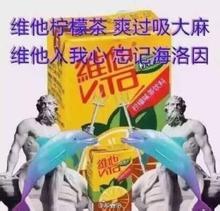 维他柠檬茶表情18枚无水表情高清版什么尼印版包叫坤图片