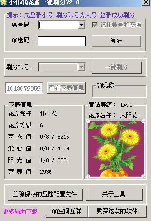 小伟QQ空间花藤小助手