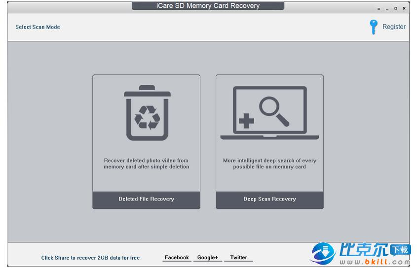 SD卡数据恢复软件(iCare SD Memory Card Recovery)