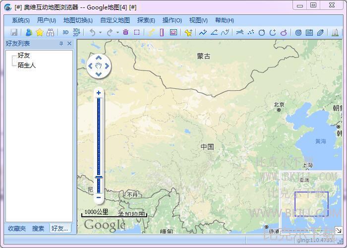 奥维互动地图免安装版