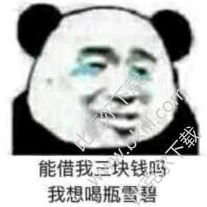 熊猫头微信/qq表情包下载-熊猫头表情包空白/带字-熊猫头表情包图片