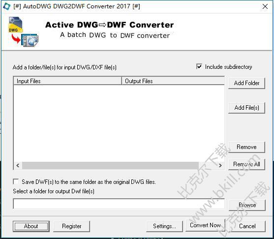 DWG转DWF软件(AutoDWG DWG to DWF Converter)
