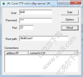 迷你FTP服�掌�(Core FTP mini-sftp-server)
