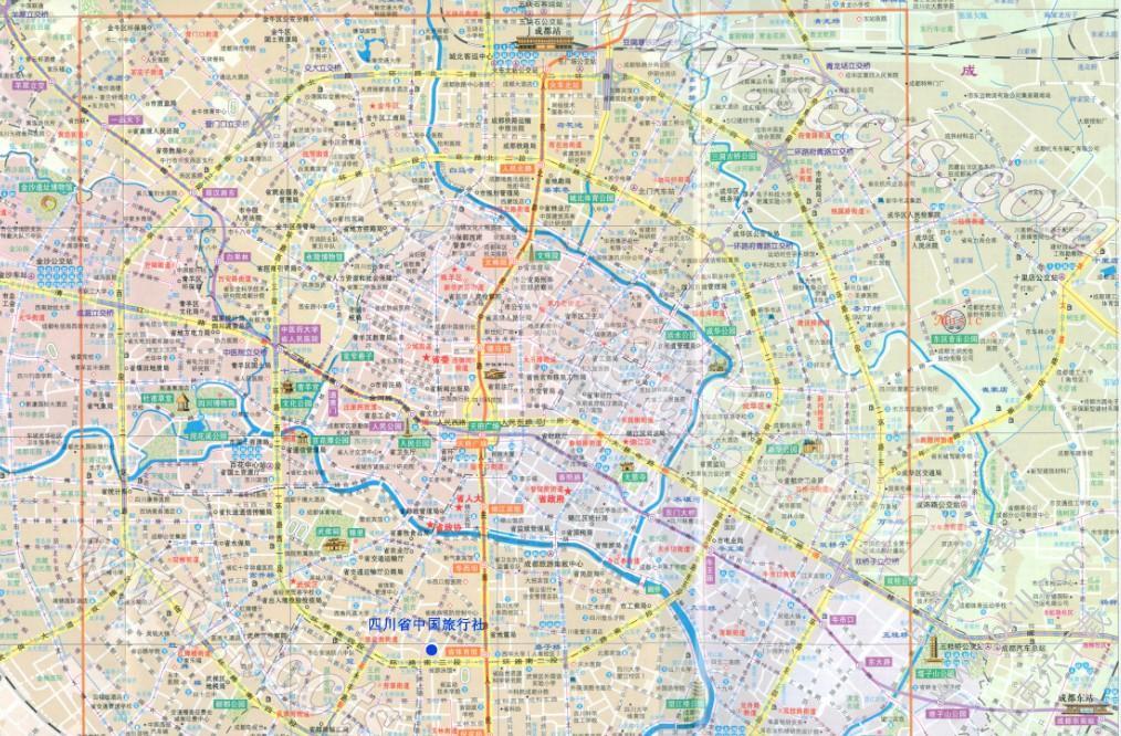 成都地图全图高清版 jpg 可放大版