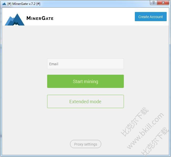比特币/以太坊/门罗币挖矿软件(MinerGate)
