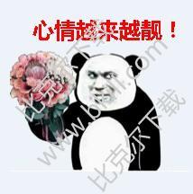 熊猫头妇女节快乐