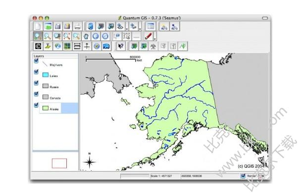QGIS地理信息系统(Quantum GIS)