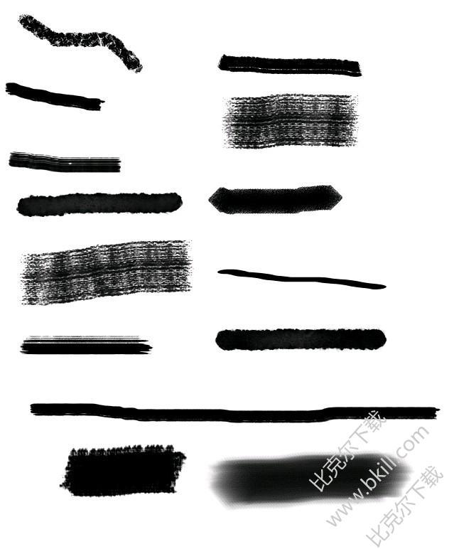 ps手绘画笔笔刷