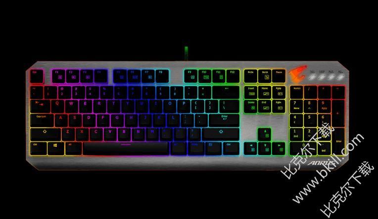 技嘉AORUS K7键盘驱动