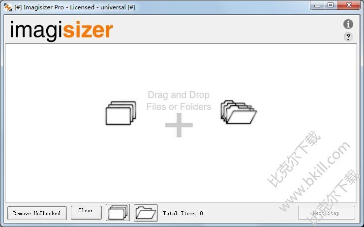 批量调整图片大小软件(Imagisizer Pro)