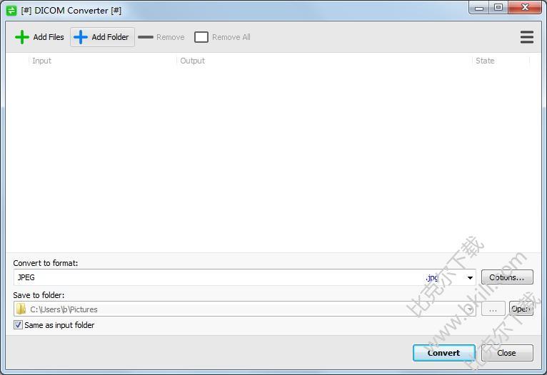 DICOM格式转换软件(DICOM Converter)