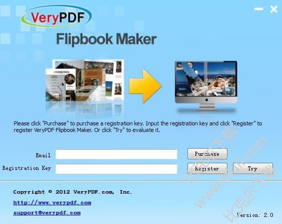 VeryPDF Flipbook Maker�子�赢���制作�件